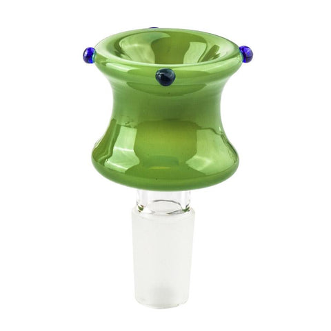 14mm Male Green Bong Bowl | Bong Accessories For Sale | Free Shipping