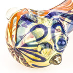 Fumed Glass Spoon Pipe w/ Marbles | Weed Bowls For Sale |Free Shipping