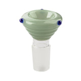 18mm Male Mint Green Bong Bowl  Bong Accessories  Free Shipping