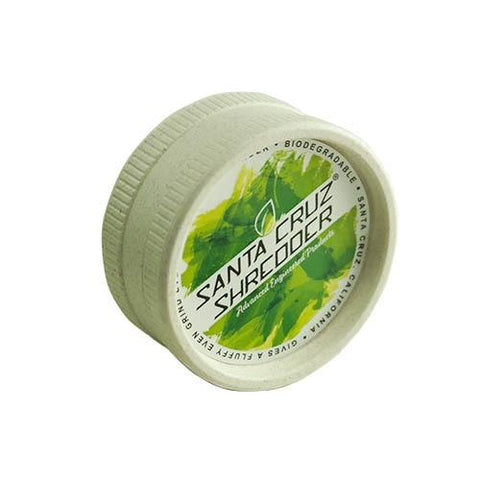 Santa Cruz Shredder Eco-Friendly Biodegradable Hemp 2 Piece Grinder - SCS Logo (Display of 24)