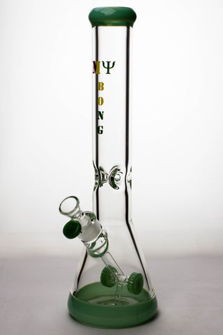 "16"" Cannon Diffuser Glass Water Bong 