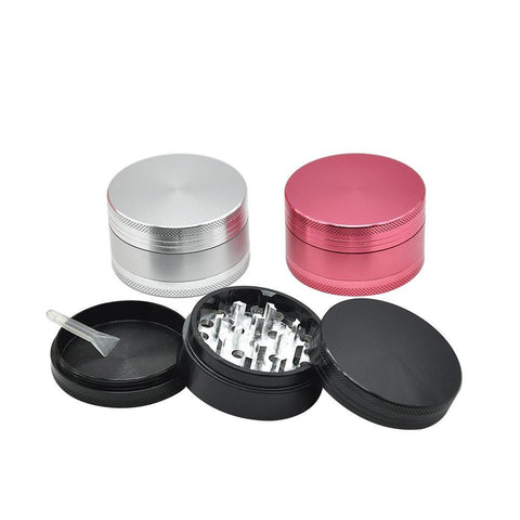 3 Layer Aluminium Alloy Weed Grinder | Herb Grinders For Sale