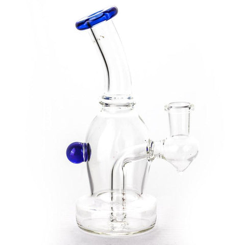 6 Mini Clear Glass Bong  Portable Bongs For Sale  Free Shipping