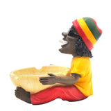 Bob Marley Jamaican Cigarette Ashtray For Sale  Free Shipping