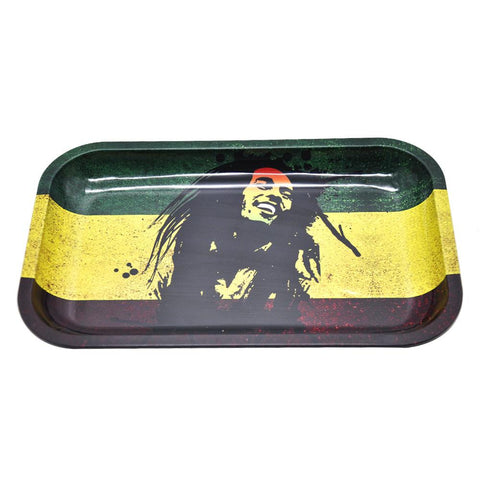 Bob Marley Rolling Tray  Best Rolling Trays For Rolling Your Own