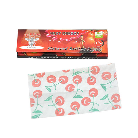 Cherry Flavor Rolling Paper 5 Booklets | Rolling Papers For Sale