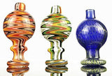 Colorful Twist Flower Glass Cover Carb Cap OD27mm | Free Shipping