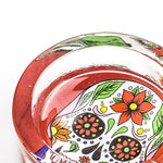 Day of Dead Skull Glass Ashtray  Ashtrays For Sale  Free Shippping