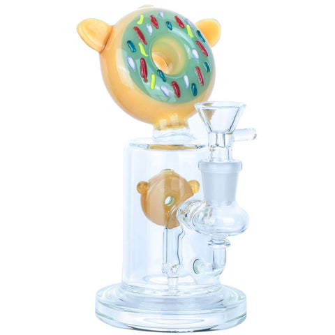 Donut Dab Rig | Glass Bongs Under $100 For Sale | Puffing Bird