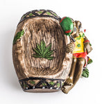 Handmade Jamaican Resin Ashtray | Ashtrays For Sale | Free Shipping