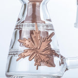 Mini Dab Rig - Maple Leaf Glass Wax Rig For Sale - Puffing Bird - Online Headshop