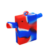 Mini Square Silicone Blunt Bubbler