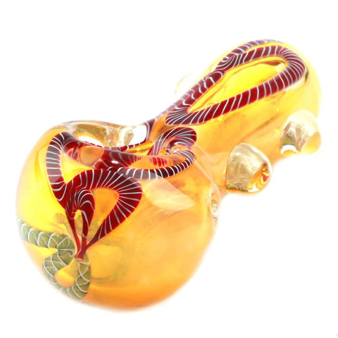 Nano Murrine Glass Pipe | Weed Pipes/Bowls For Sale | Puffing Bird