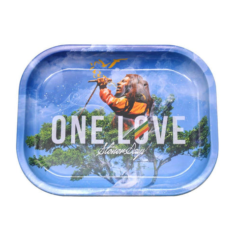 One Love Rolling Trays  Best Rolling Trays For Sale  Free Shipping