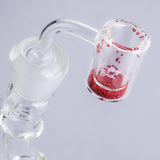 18mm Male Thermochromic Quartz Bangers(Red) For Sale | Free Shipping