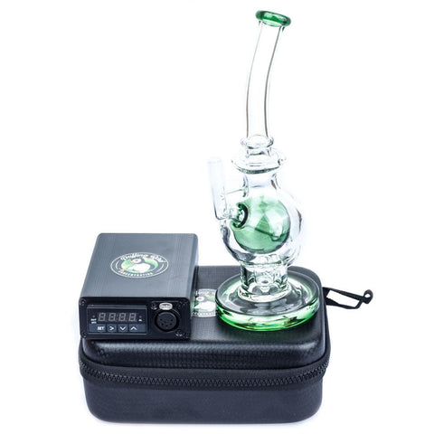 Quartz Enail W/ Glass Dab Rig Bundle | Electric Dab Rigs For Sale | Enail Bundles For Sale | Puffing Bird | Online Headshop
