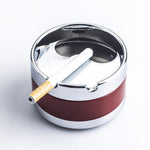 Rotating Cigarette Ashtray  Tin Ashtrays For Sale  Free Shipping