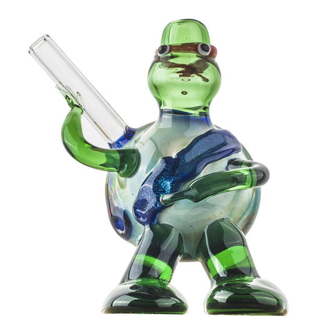 Teenage Mutant Ninja Turtles Hand Glass PipeWeed Bowls Free Shipping