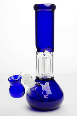 "11"" Blue Beaker Bong With Ash Catcher 
