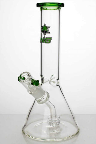 "9"" NG glass shower head diffuser water bongs"