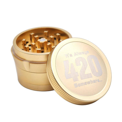 420 Theme Weed Grinder | Herb Grinders For Sale | 420 Gifts