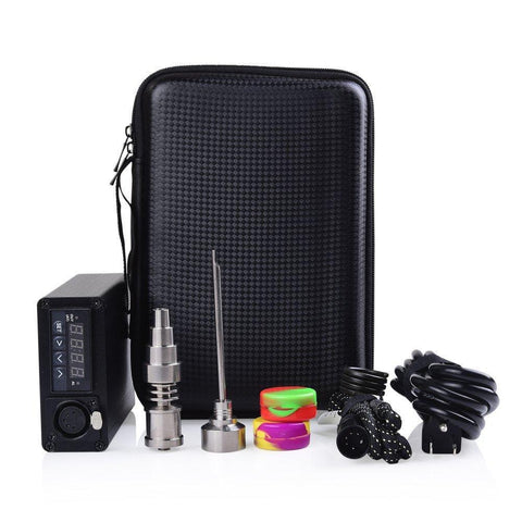 Titanium 20Mm Enail Set -Complete Kit With Portable Bag