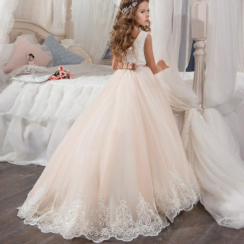 Communion Ball Gowns Secquin Dresses for Wedding Birthday Dresses Pageant Dresses Princess Dresses Flower Girl