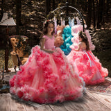 Girls Pageant Dresses Princess Flower Girls Dresses Princess Ball Gown