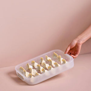 Lattice Silicone Ice Cube Tray with Lid (Hexagon)