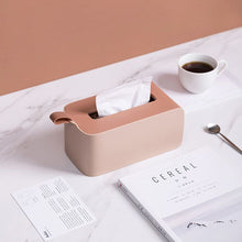 Load image into Gallery viewer, Minimalist pink tissue box holder for home or office