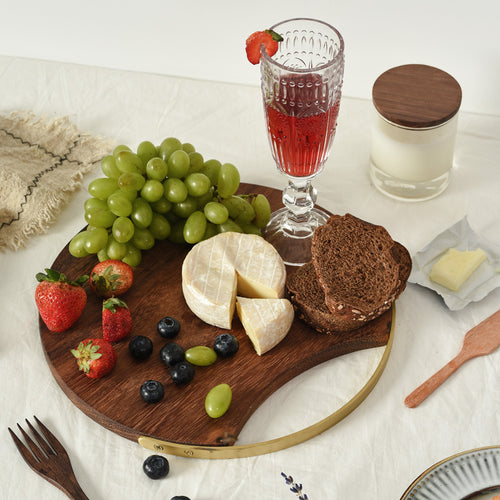 Kai Round Serving Board with Handle