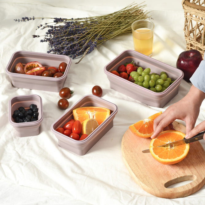 Lejos Silicone Collapsible Lunch Box