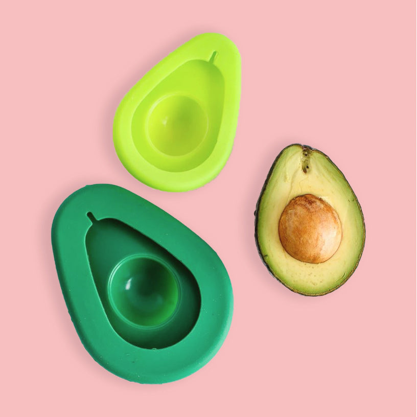 Silicone avocado hugger in 2 sizes