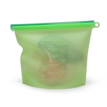 Load image into Gallery viewer, Green Silicone Food Bag