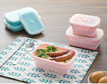Load image into Gallery viewer, Silicone Collapsible Lunch Box (Set of 3)
