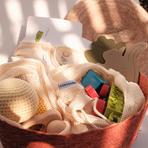 muliti-purpose Gaia Mesh Produce Bags to keep toys