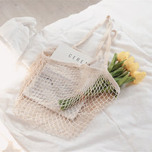 Load image into Gallery viewer, Spacious Gaia Mesh Tote Bag