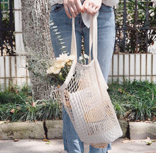 Load image into Gallery viewer, Fashionable Gaia Mesh Tote Bag