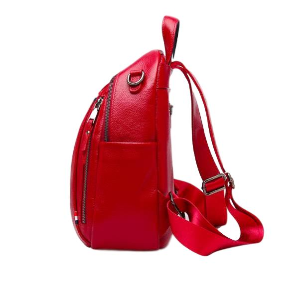 100% Genuine Leather Trendy Backpack - see colours