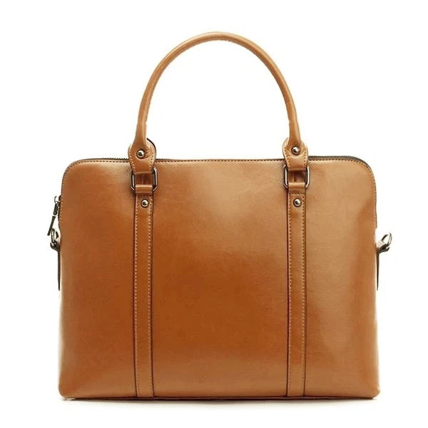 100% Genuine Leather 13 Inch Laptop Bag