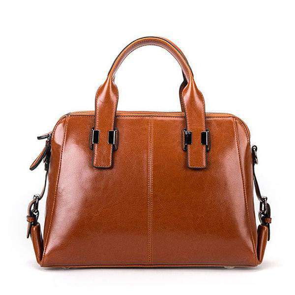 100% Genuine Leather Tote Bag - see colour options - GirlBuys