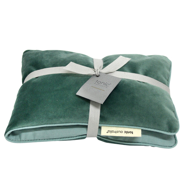 Luxe Velvet Heat Pillow Moss