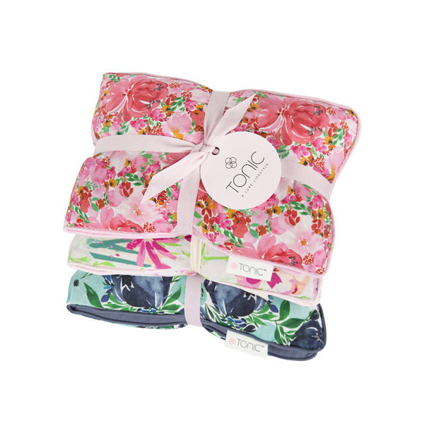 Heat Pillows Set of 3 -Gift Box Flourish & Bloom