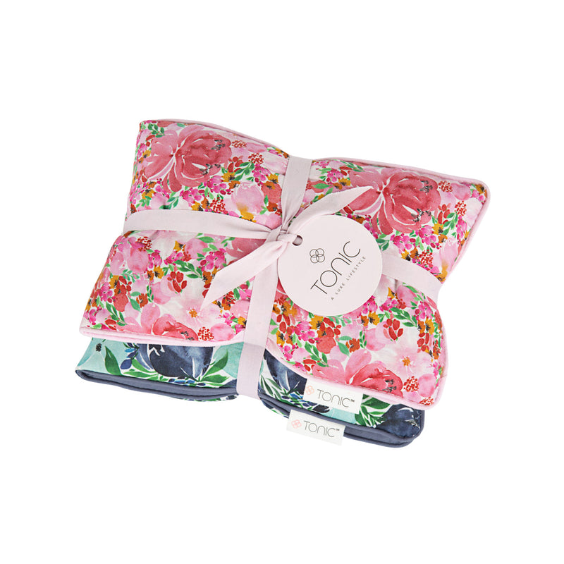 Heat Pillows S/2 Gift Box Flourish
