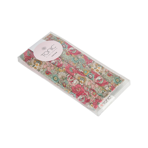 Face Mask - Tapestry Pinks