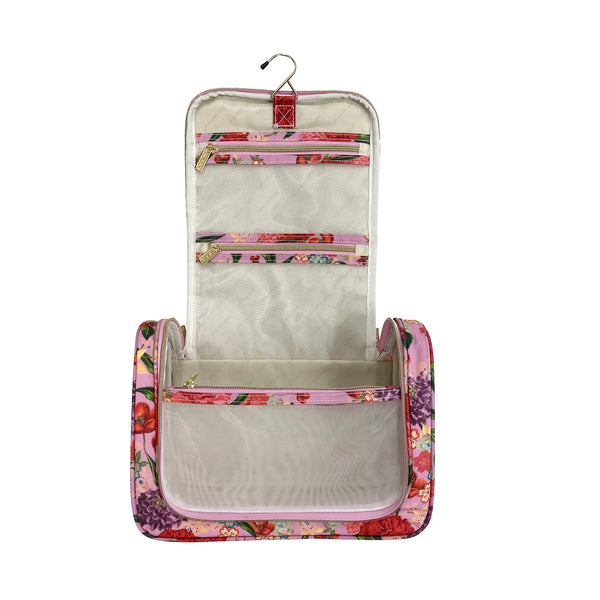 Essential Hanging Cosmetic Bag Romantic Garden