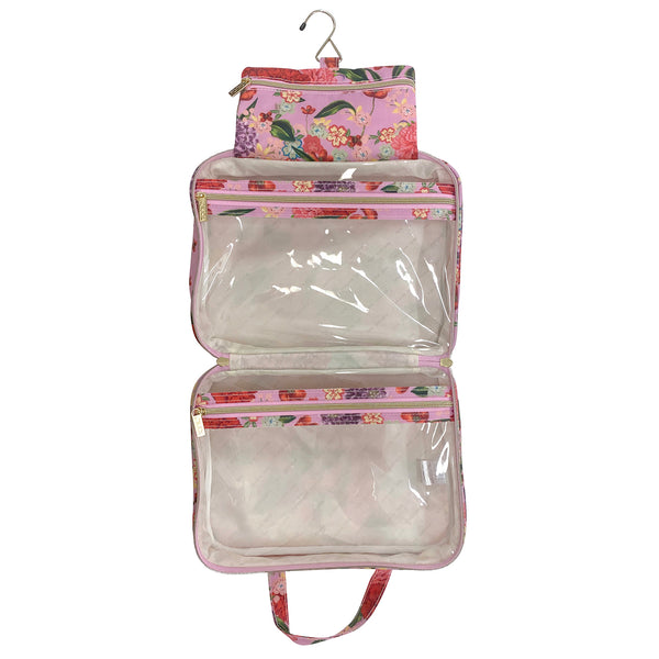 Hanging Cosmetic Bag Romantic Garden