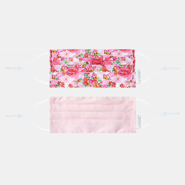 Face Mask 2 Pack Flourish Pinks