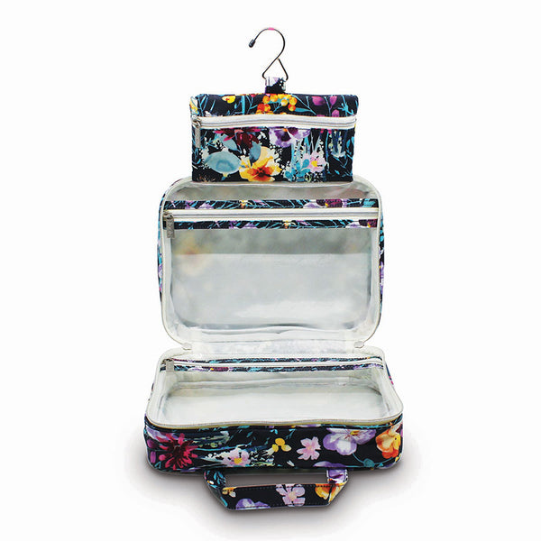 Hanging Cosmetic Bag Evening Bloom