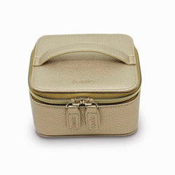 Metallic Jewellery Cube Gold
